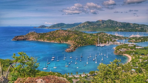 Antigua and Barbuda island