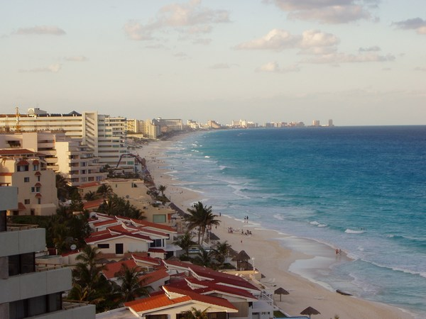 Beautiful Cancun in Mexico