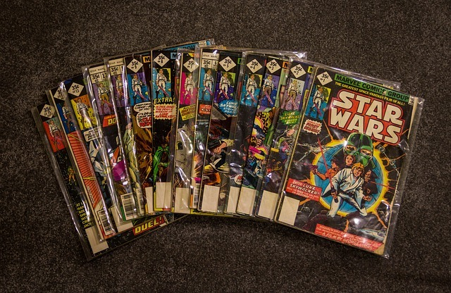 Comic books collection