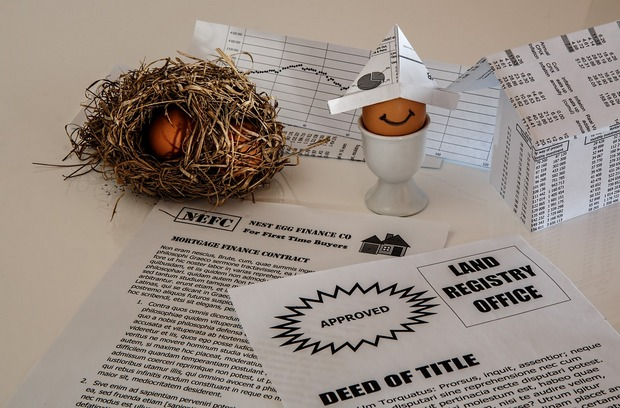 Buy a property as a financial nest egg