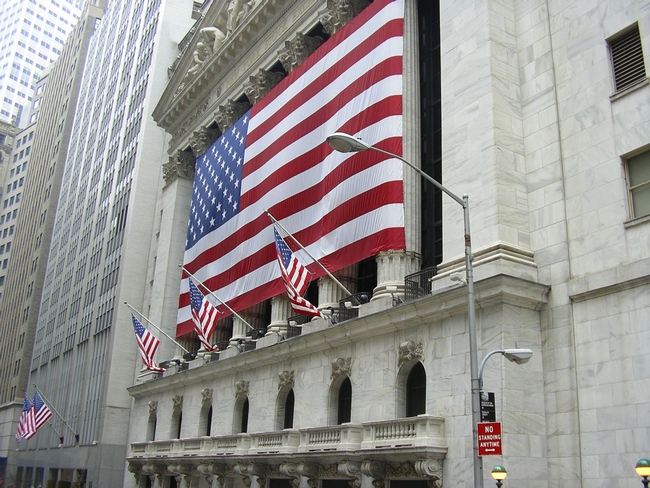 The Stock Exchange in New York, USA